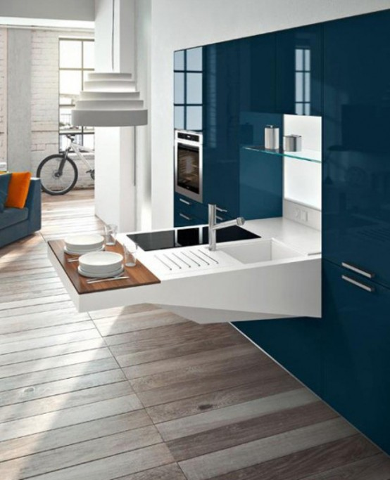 modern kitchen smart compact design digsdigs modern small kitchen designs smart ideas small kitchen designs