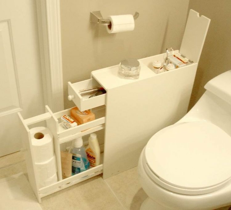 47 Creative Storage Idea For A Small Bathroom Organization - small bathroom cabinet ideas