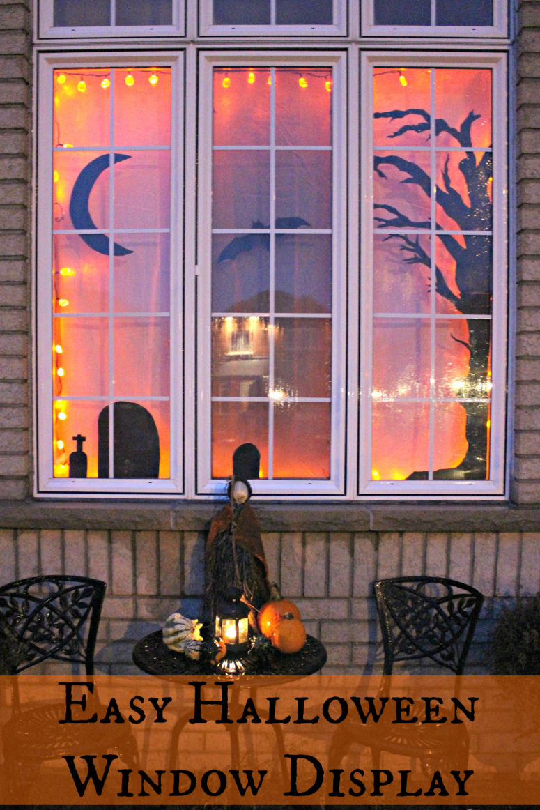 Hd Fall Painting Wallpapers 35 Ideas To Decorate Windows With Silhouettes On Halloween