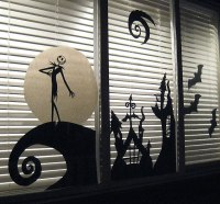 35 Ideas To Decorate Windows With Silhouettes On Halloween ...