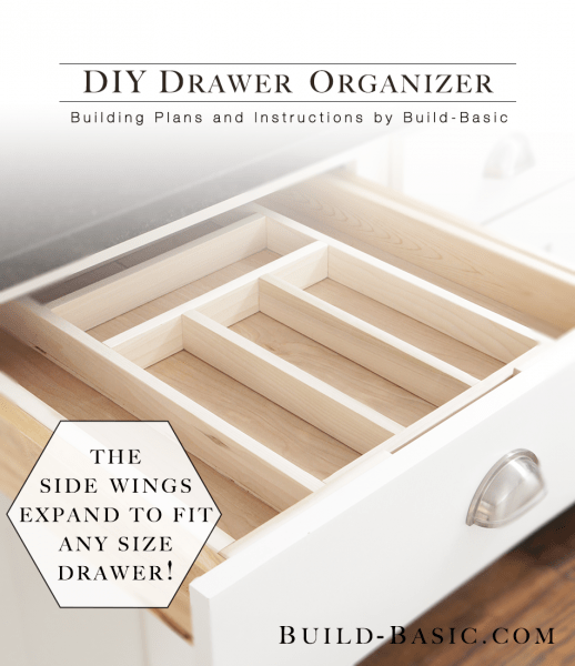 diy wooden drawer organizer side wings expand fit metal kitchen utensils organizers choices top drawers