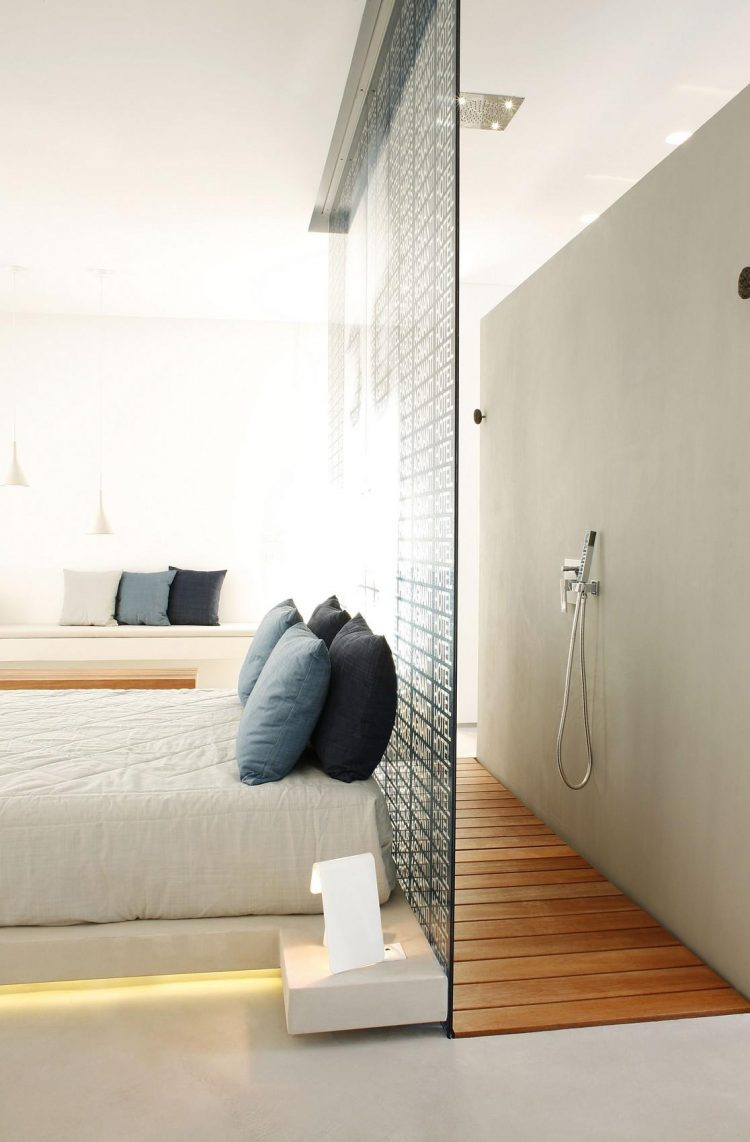 Kleine Slaapkamer Met Douche 45 Cool Ideas To Use Space Behind The Bed - Shelterness
