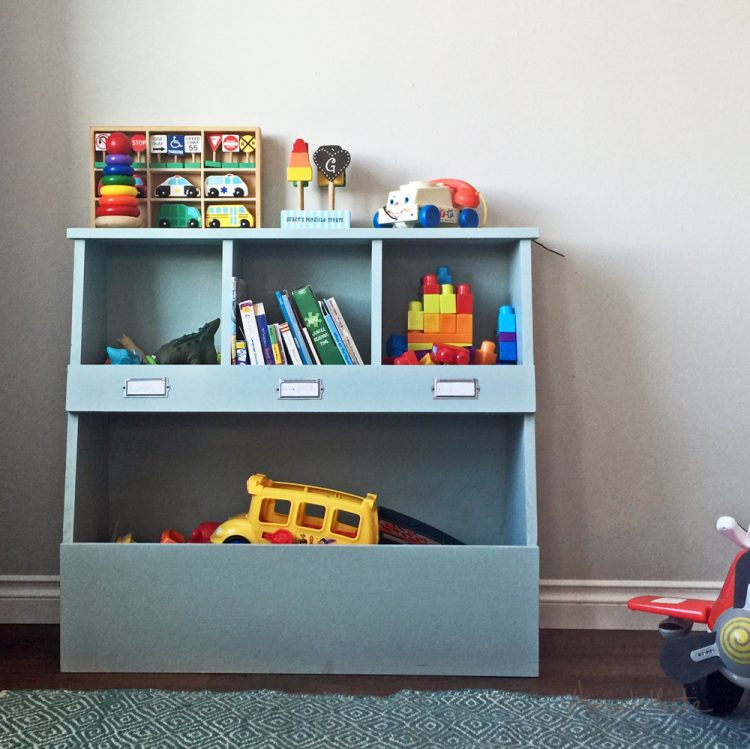 30 Cool DIY Toy Storage Ideas - Shelterness - toy storage ideas for living room