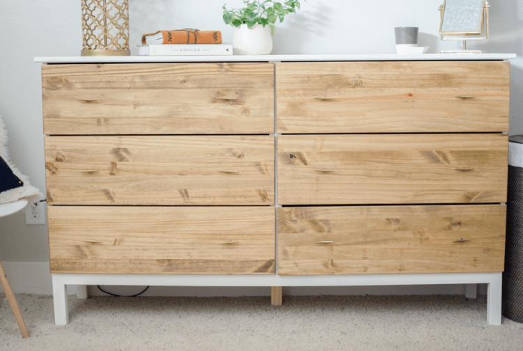 Ikea Nordli Dresser Stylish Diy Ikea Tarva Dresser Hack - Shelterness