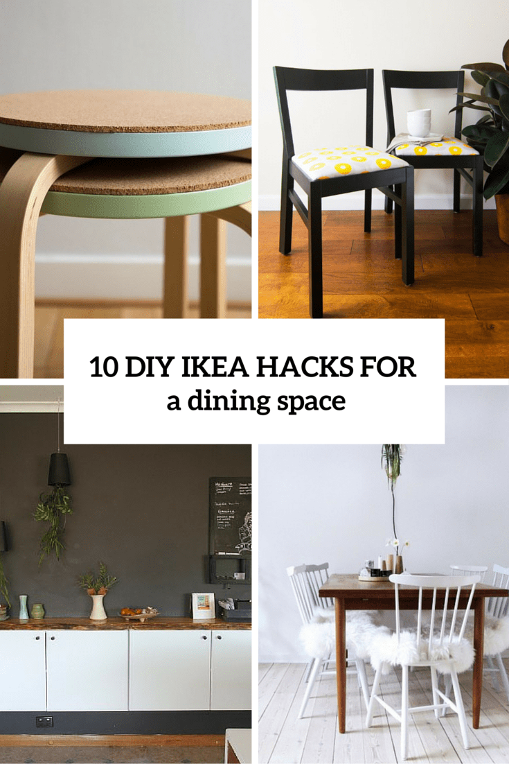 Ikea Dining Table 10 Adorable Diy Ikea Hacks For A Dining Room Or Zone Shelterness