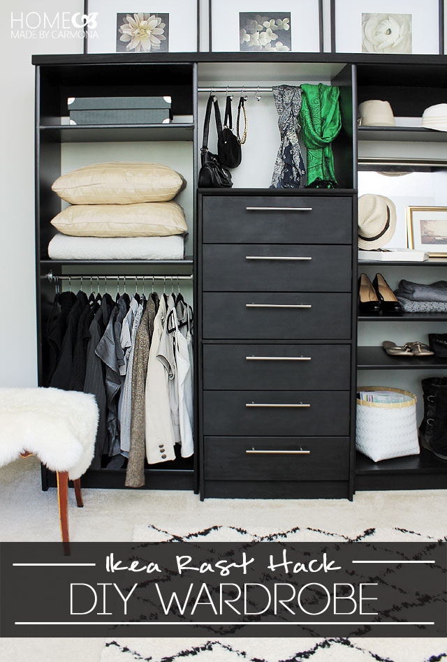 Ikea Ribba Shelf 9 Cool And Easy Diy Ikea Hacks For Your Closet - Shelterness