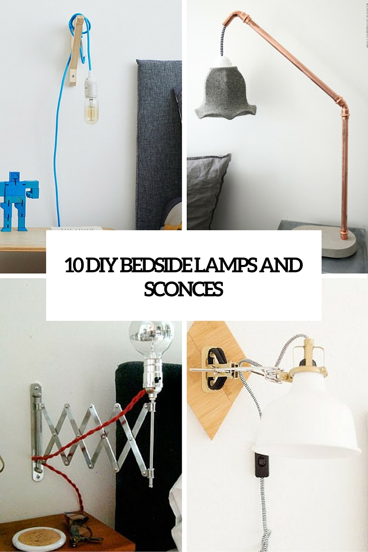 Cool Bedside Lamps Bedside Lamp Ideas Archives Shelterness