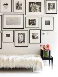 31 Modern Photo Gallery Wall Ideas - Shelterness