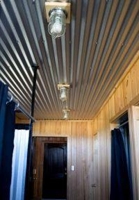 Corrugated Metal Basement Ceiling | www.imgkid.com - The ...