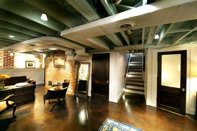 Inexpensive Basement Finishing Ideas 36 Practical And Stylish Basement Ceiling Décor Ideas