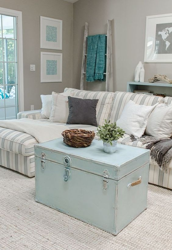 26 Charming Shabby Chic Living Room Décor Ideas - Shelterness - country chic living room