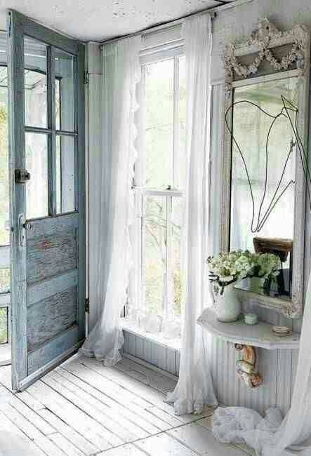 Rustic Furniture 25 Shabby Chic Hallway And Entryway Décor Ideas - Shelterness