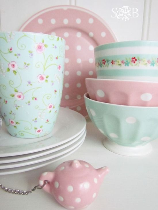 Vintage Geschirr Set 32 Sweet Shabby Chic Kitchen Decor Ideas To Try - Shelterness