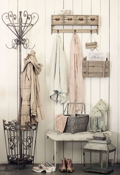 Cute Rustic Fall Wallpapers 25 Shabby Chic Hallway And Entryway D 233 Cor Ideas Shelterness