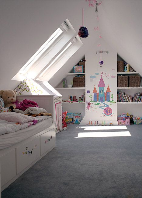 30 Cozy Attic Kids Rooms And Bedrooms Shelterness - Dachboden Kinderzimmer