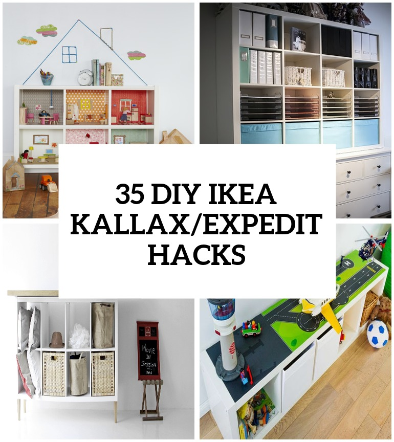 Ikea Lack Wall Shelf Unit 35 Diy Ikea Kallax Shelves Hacks You Could Try - Shelterness