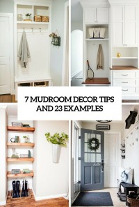 7 Small Mudroom Dcor Tips And 23 Ideas To Implement Them ...