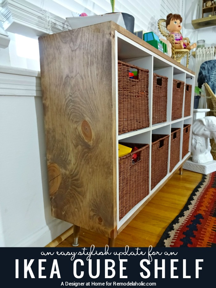 Wooden Shelving Units 35 Diy Ikea Kallax Shelves Hacks You Could Try - Shelterness