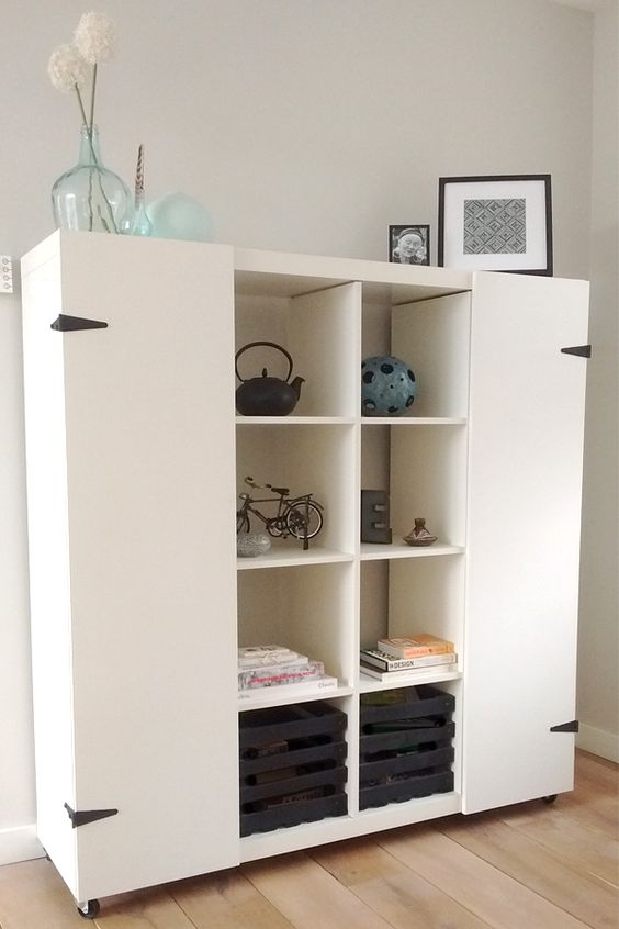 Ikea Furniture Tv Stand 35 Diy Ikea Kallax Shelves Hacks You Could Try - Shelterness