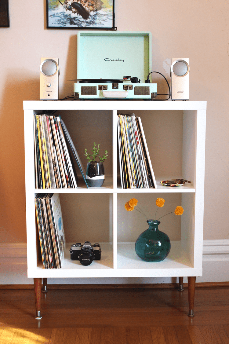 Wooden Art Meuble Tv 35 Diy Ikea Kallax Shelves Hacks You Could Try - Shelterness