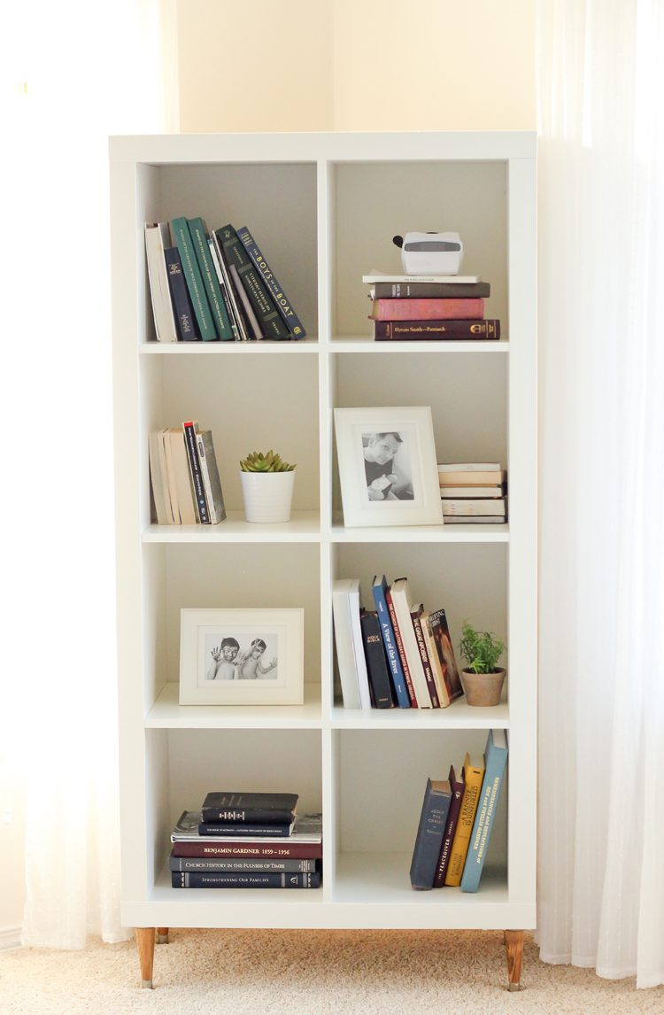 Ikea Expedit Cut In Half 35 Diy Ikea Kallax Shelves Hacks You Could Try Shelterness
