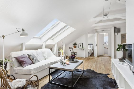 Wohnzimmer Ideen Dachgeschoss 26 Stylish Attic Living Rooms Decor Ideas - Shelterness
