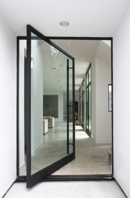 swing pivot glass doors