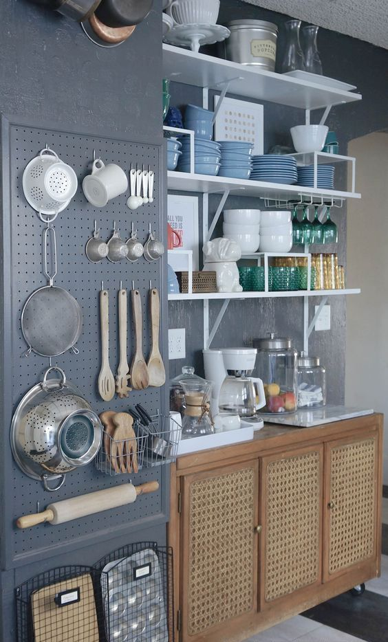Wall Bed Ikea 27 Smart Kitchen Wall Storage Ideas - Shelterness