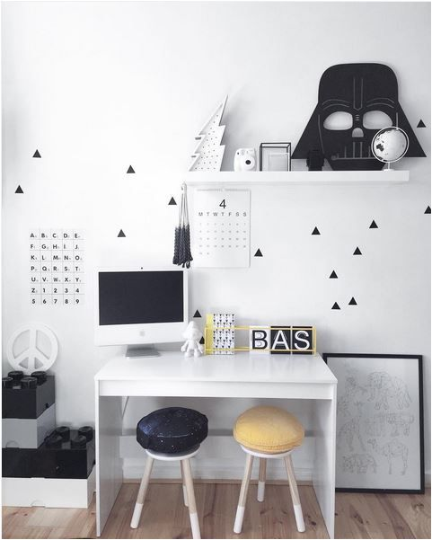 Study Desk For Small Space 24 Ways To Decorate And Organize A Kids' Study Nook
