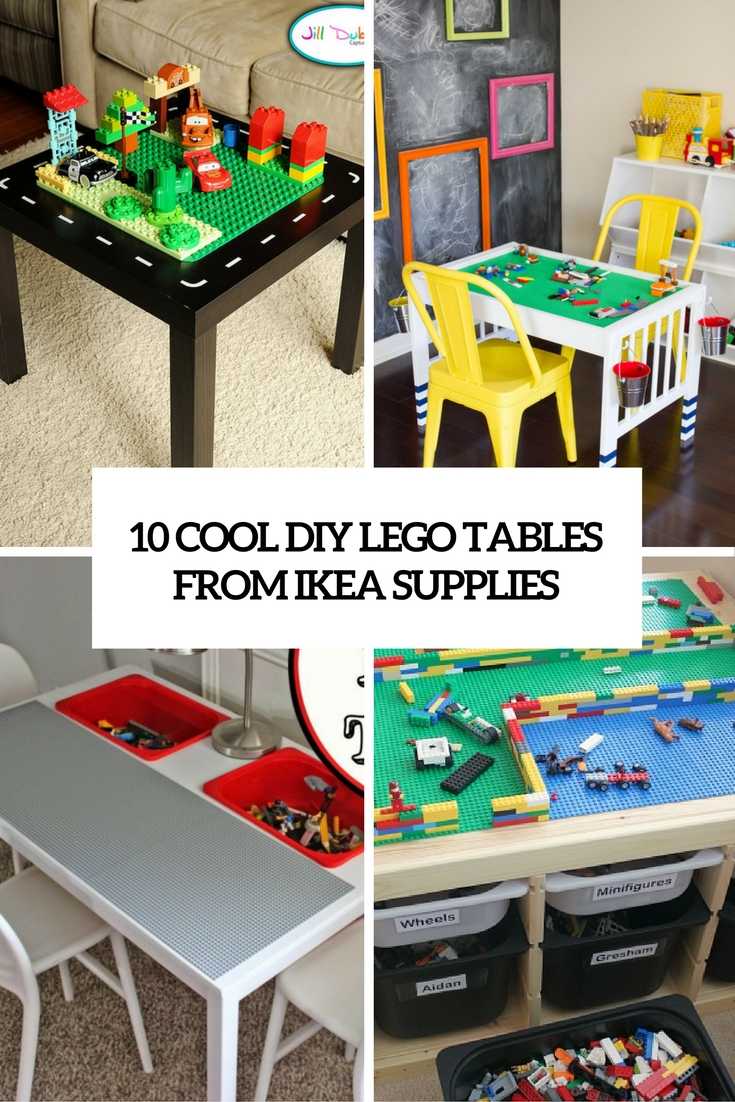 Ikea Lack Duplo 10 Cool Diy Lego Tables From Ikea Supplies Shelterness