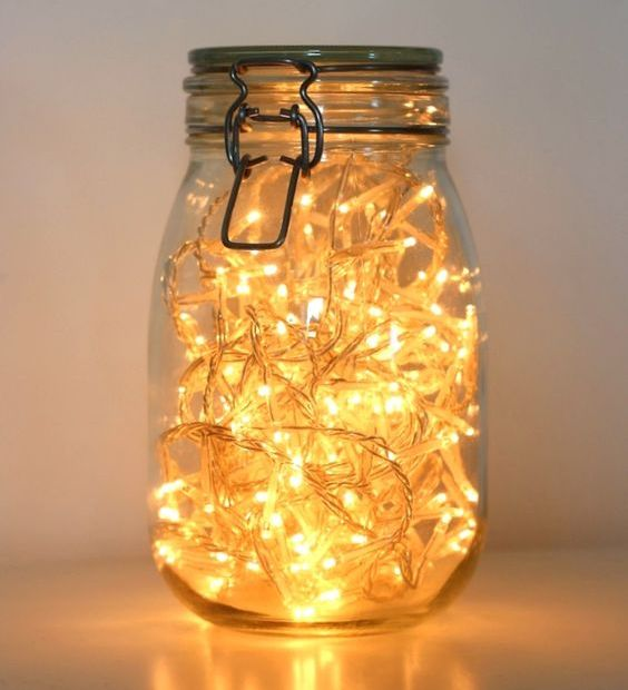 Smart Lights 23 Smart Ways To Use Ikea Jars At Home - Shelterness