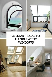23 Smart Ideas To Handle Attic Windows - Shelterness