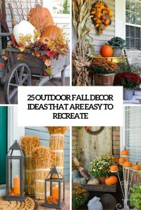 25 Outdoor Fall Dcor Ideas That Are Easy To Recreate ...