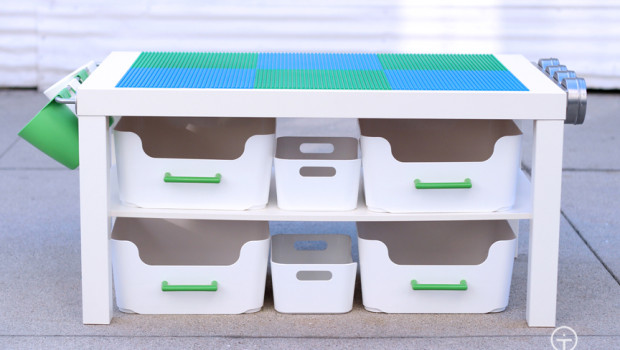 Plastic Drawers Ikea 10 Cool Diy Lego Tables From Ikea Supplies - Shelterness