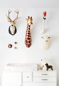 Decorative Animal Head Trend: 23 Cool Ideas - Shelterness