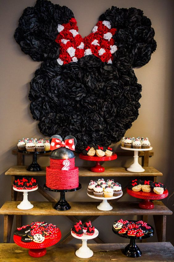 Mesa Centro Amarela 32 Sweet And Adorable Minnie Mouse Party Ideas - Shelterness