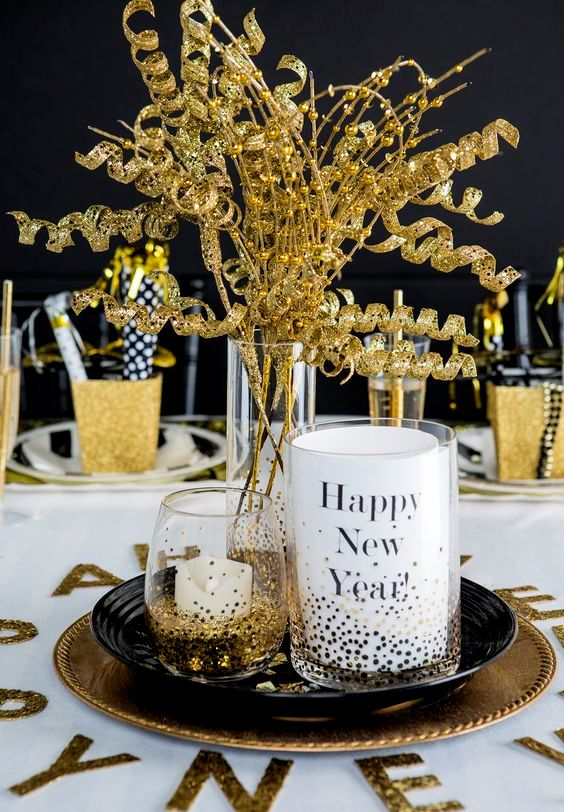 Ikea Inside 25 Gold And Glitter Party Ideas For Glam-lovers - Shelterness