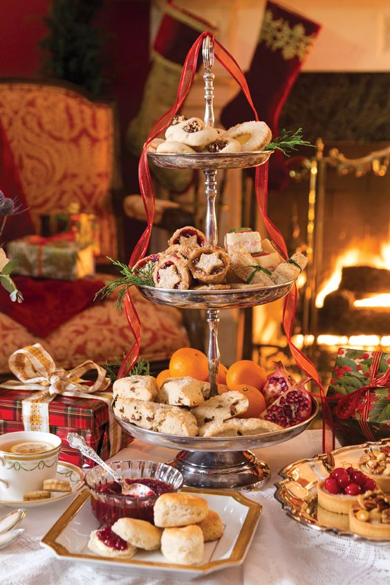 Kids Fall Wallpaper 24 Lovely Christmas Tea Party Ideas Shelterness