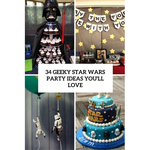 Medium Crop Of Star Wars Party Ideas
