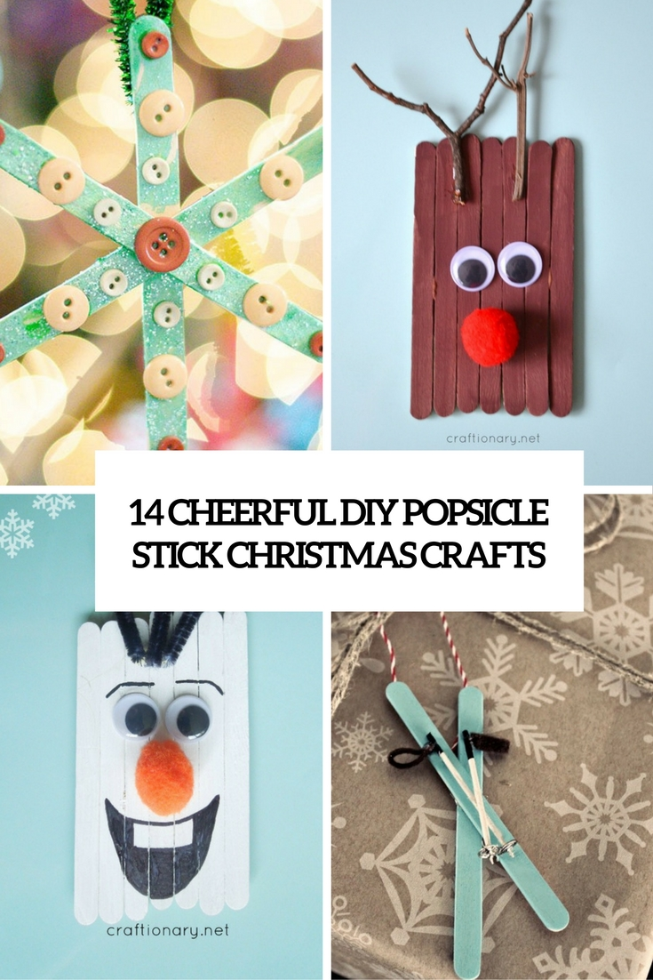 14 cheerful diy popsicle stick christmas crafts