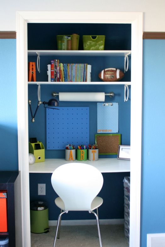 Mini Office 20 Hideaway Desk Ideas To Save Your Space - Shelterness