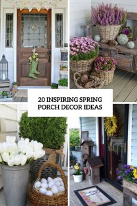 20 Inspiring Spring Porch Dcor Ideas - Shelterness