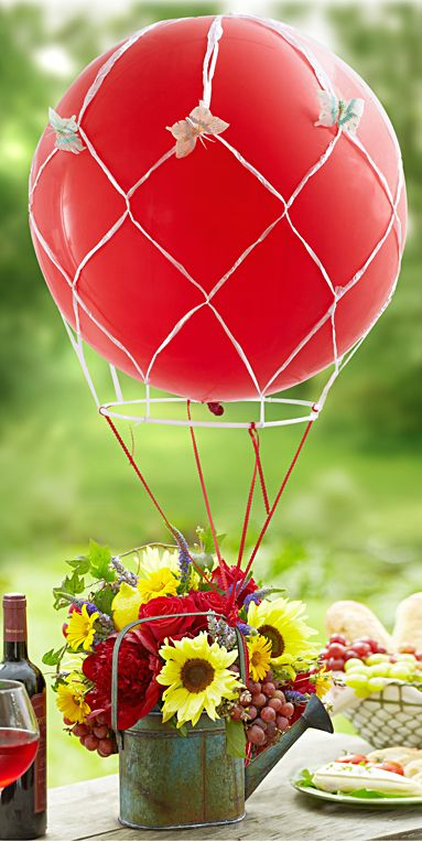 Como Hacer Centro De Mesa Con Globos 19 Cute And Sweet Balloon Centerpieces For Baby Showers
