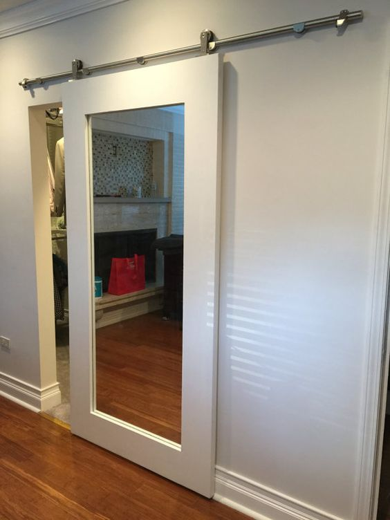 Wall Mirror No Frame 20 Mirror Closet And Wardrobe Doors Ideas Shelterness