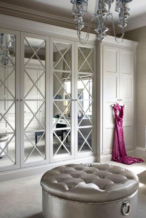 Sliding Closet Doors 20 Mirror Closet And Wardrobe Doors Ideas - Shelterness