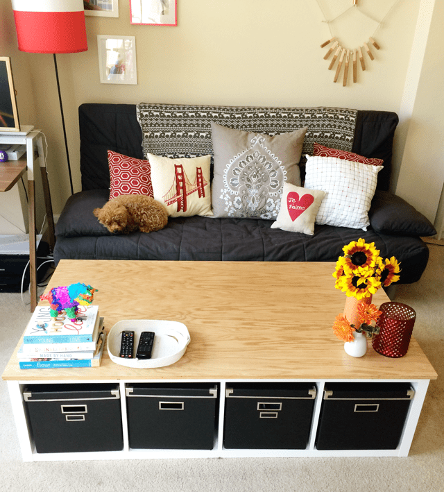 Hairpin Legs Ikea 10 Easy And Cute Diy Coffee Tables From Ikea Items