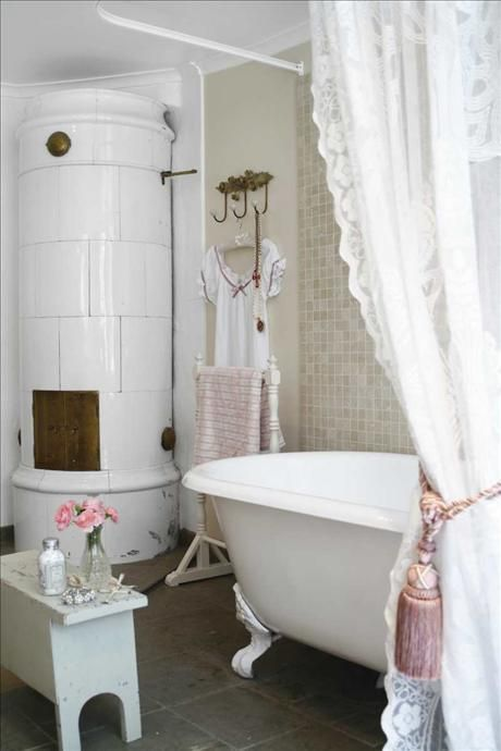 Standing Mirror Frame 15 French Country Bathroom Décor Ideas Shelterness