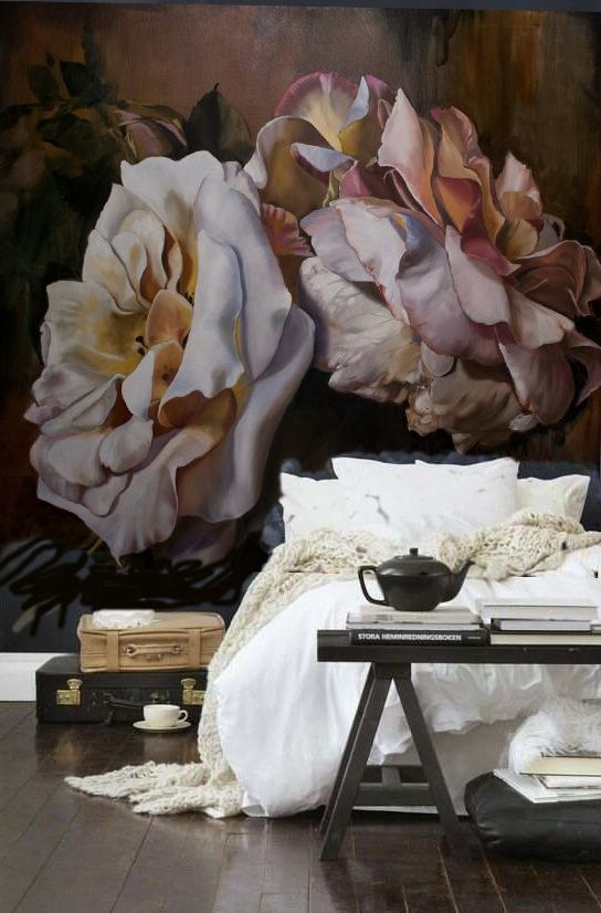 Pinterest Wallpapers Fall 20 Super Trendy Moody Floral Wallpaper Ideas Shelterness