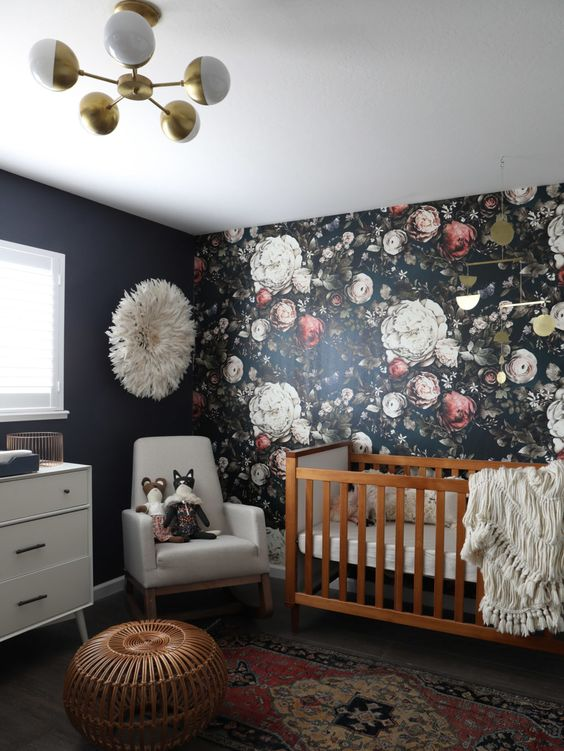 Super Cute Girly Wallpaper 20 Super Trendy Moody Floral Wallpaper Ideas Shelterness