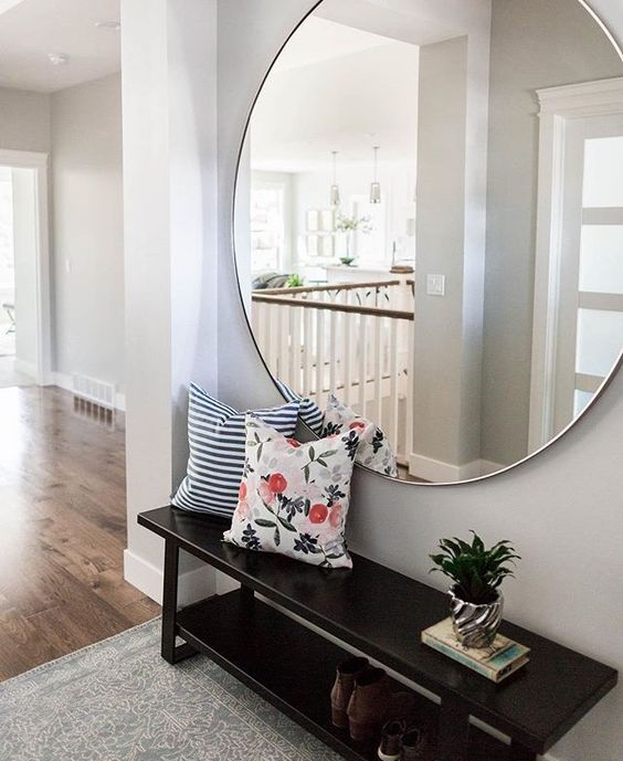 Large Mirrors With Gold Frames 20 Gorgeous Oversized Entrance Mirror Ideas Shelterness